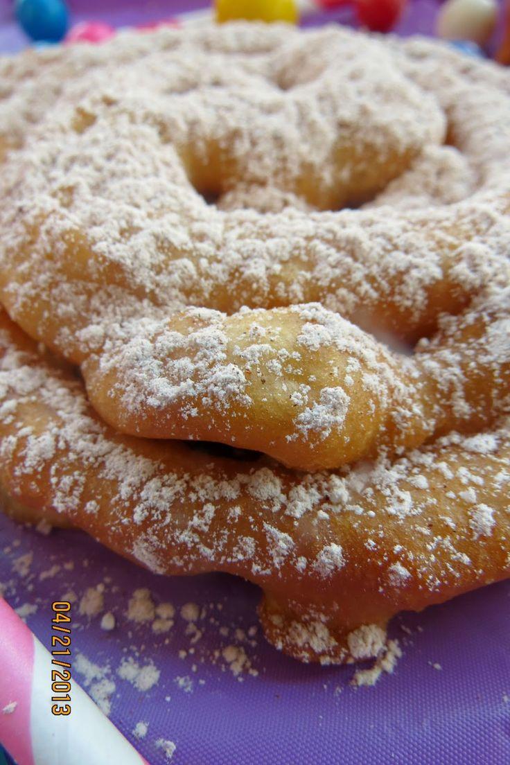 Funnel Cake Doughnut Recipe