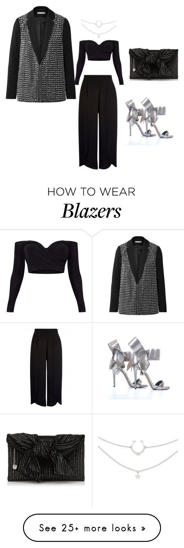 """""""Untitled #1599"""" by louneia on Polyvore featuring Alice + Olivia"""