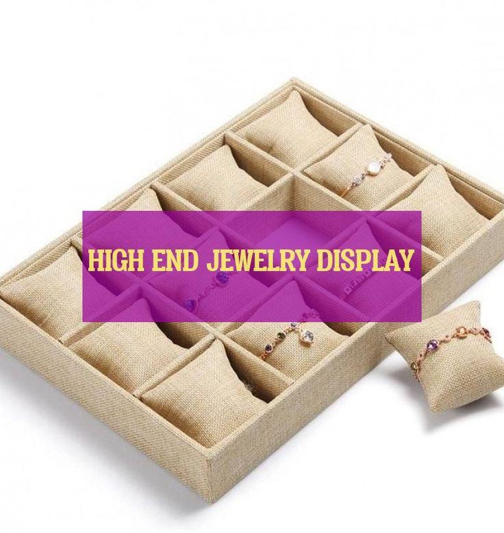 high end jewelry display ~ high-end-schmuck-display ~ présentoir de bijoux haut…
