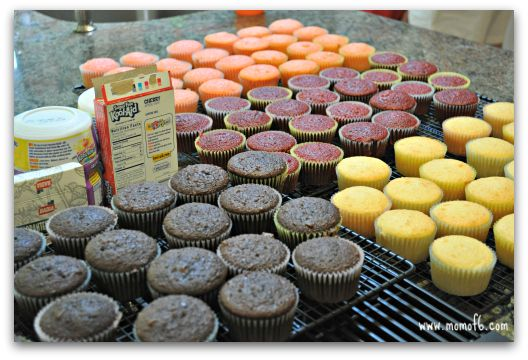 """This is so fun!  Love this """"Cupcake Wars"""" idea for a little girl's birthday party!!"""