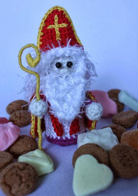 Verzameling van Sint en Piet patronen!! Inclusief YouTube van het maken van het paard van de Sint.