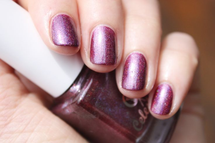Goblin Orchid swatched by Haylee of @drydammitnails