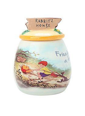 Disney Winnie the Pooh Friends Lend A Hand Cookie Jar