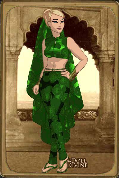 Princesa Janys en traje Árabe