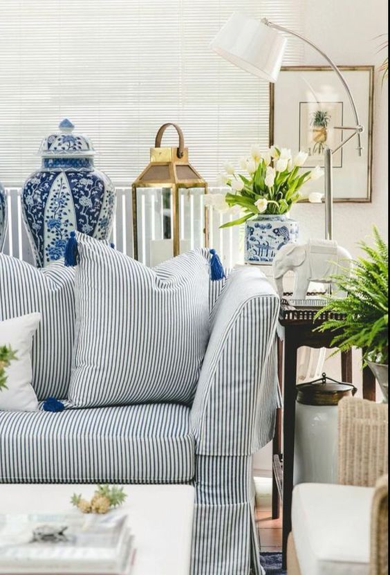 favorite blue and white rooms