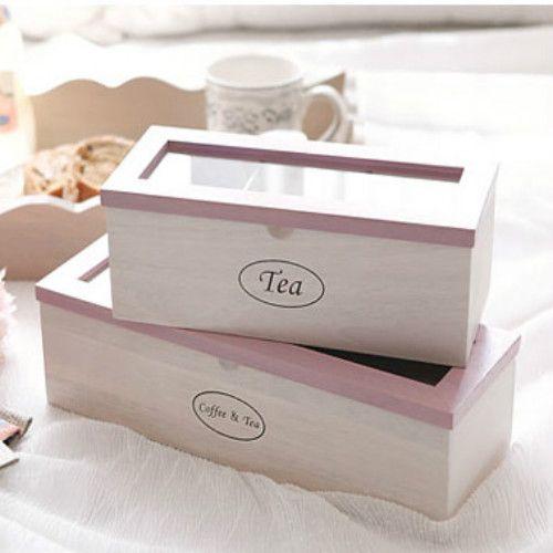 Corea del verdadero adquisitivo de vida saludable caja de almacenamiento de madera de té / café caja de almacenamiento caja de almacenamiento en Bastidores y Soportes de Hogar y Jardín en AliExpress.com   Alibaba Group