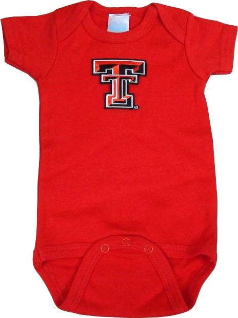 Texas Tech Red Raiders Team Spirit Baby by FutureTailgater on Etsy