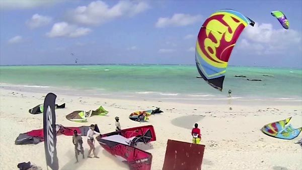 Brad from Unique-Kitecamp busting it up in some best kitesurfing spots around the world!