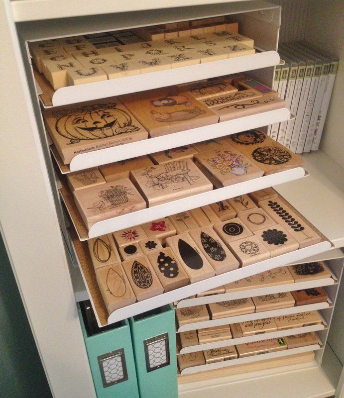 1000 Ideas About Stamp Storage On Pinterest Rubber