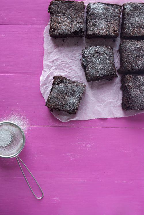 Ultra gooey chocolate beetroot brownies