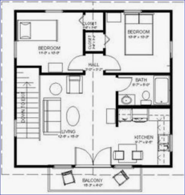 56 best house plans images on Pinterest Little house plans, Small - plan maison plain pied 200m2