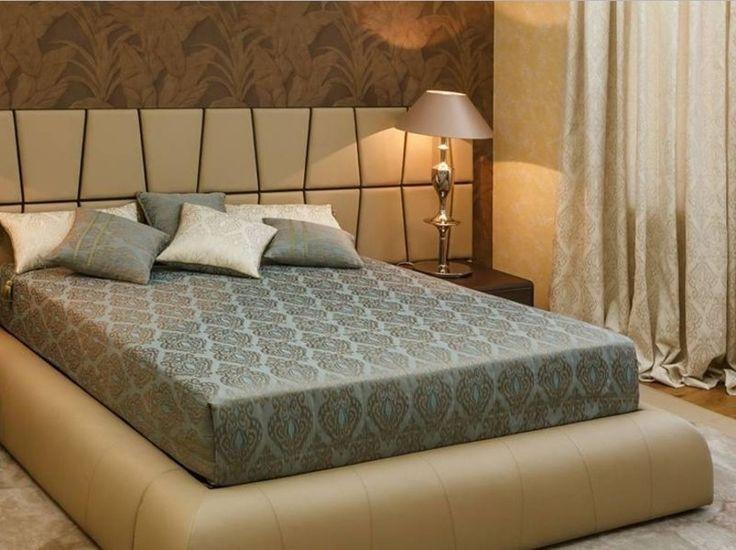 Красота в деталях: #шторы и #покрывало из тканей SICILY #galleria_arben Дизайн @akcenti_khv #bedroom #fabric #спальня #fabric #портьеры