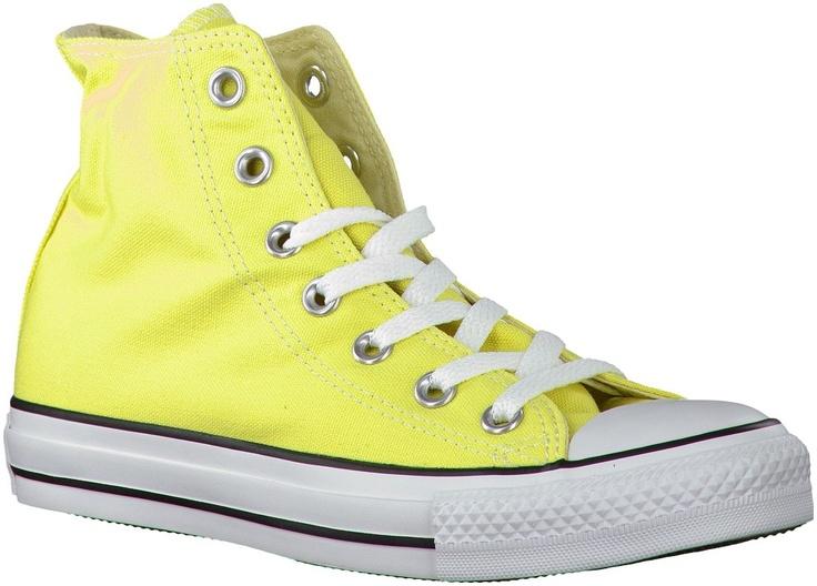 Gele Converse sneakers AS HI DAMES