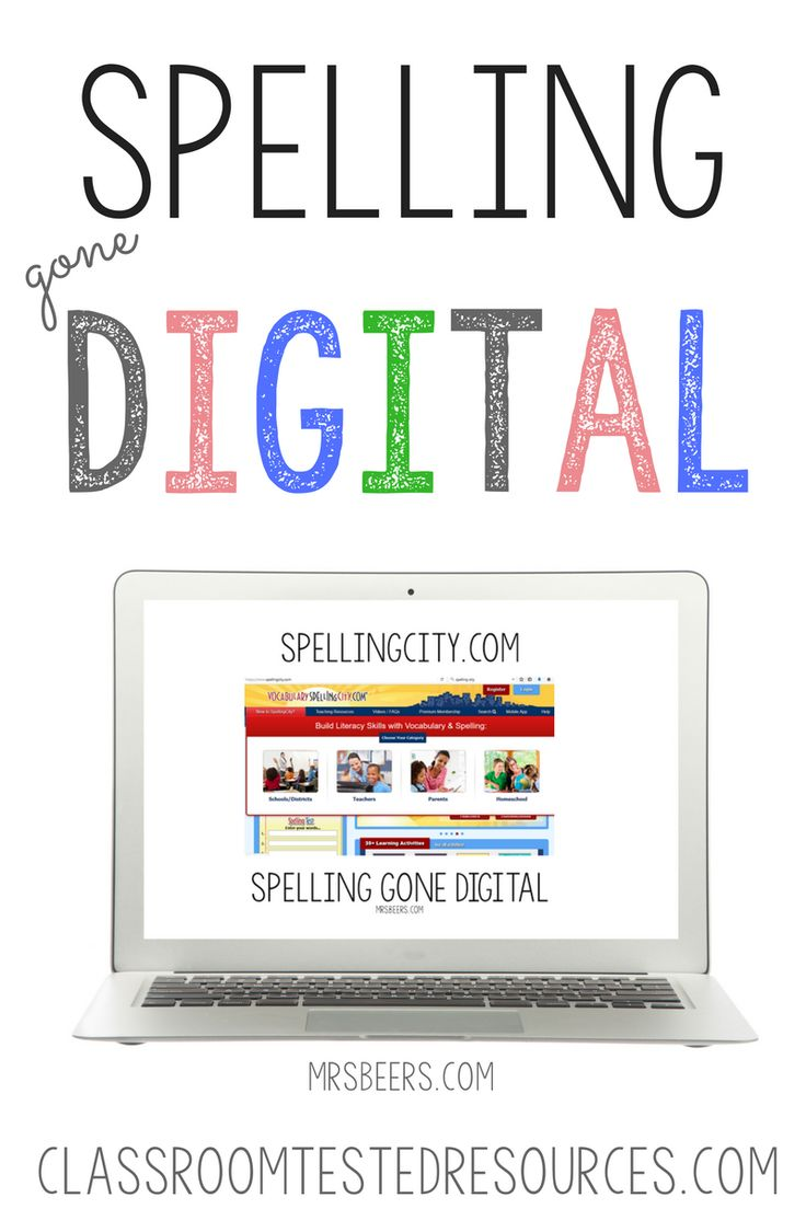 best images about technology in education spelling gone digital never grade spelling again classroom tested resources