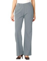 Chelsea Studio Plus Size Tall pants, bootcut chinos in stetch knit