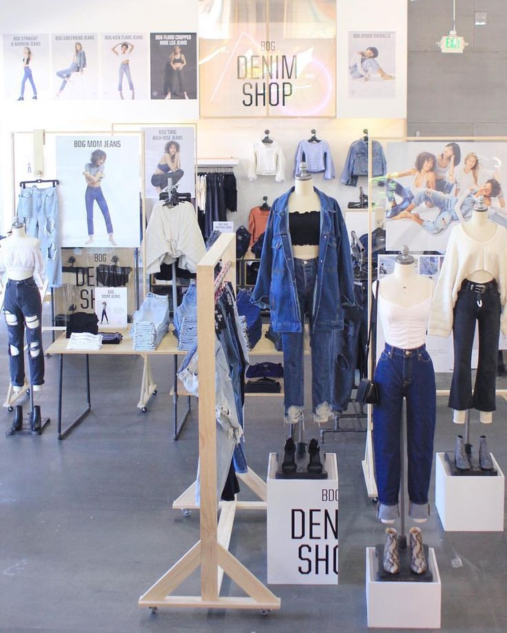 "URBAN OUTFITTERS, Orange County, Los Angeles, California, ""The Denim Shop"", photo by Katy Audette, pinned by Ton van der Veer"