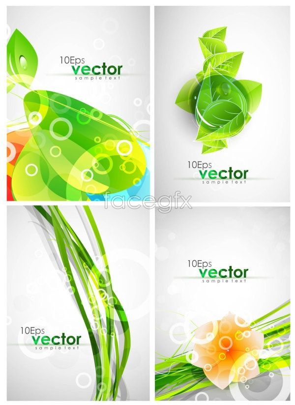 Gorgeous movement patterns Vector