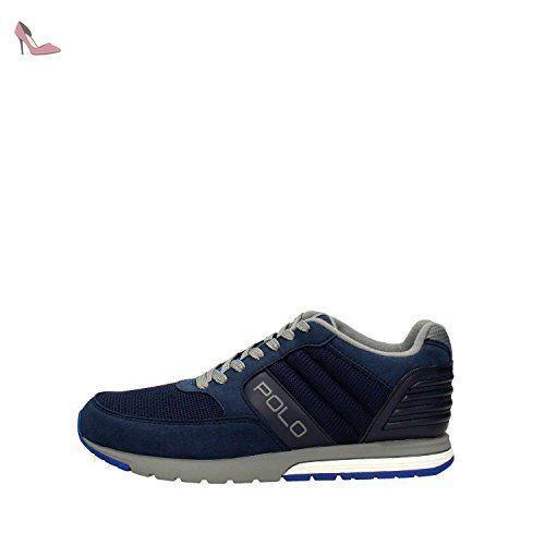 Polo Ralph Lauren LAXMAN Sneakers Homme Bleu 44 - Chaussures polo ralph  lauren ( Partner-Link)   Chaussures Polo Ralph Lauren   Pinterest   Polo  ralph ... ca89b1a2c53