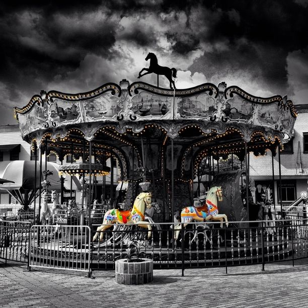 17 Best Images About Haunted Carousel On Pinterest