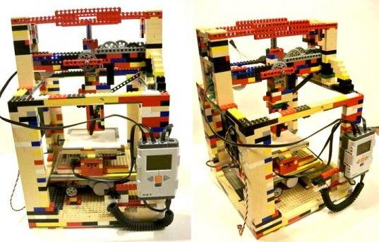 Matthew Keruger has created the LEGObot, a inexpensive homemade 3D printer that he made for next to nothing.