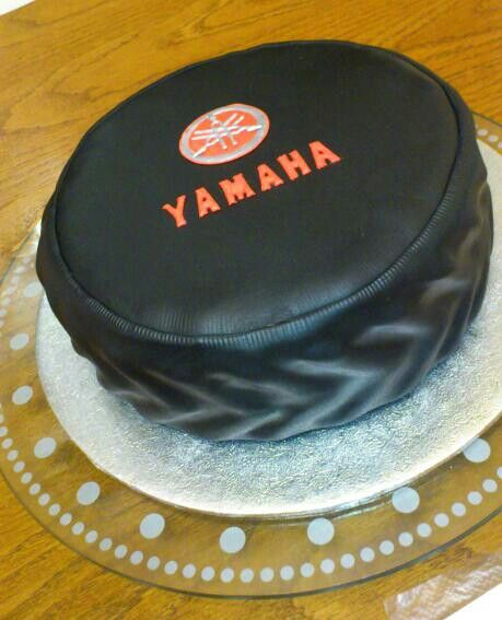 Yamaha Birthday Cake