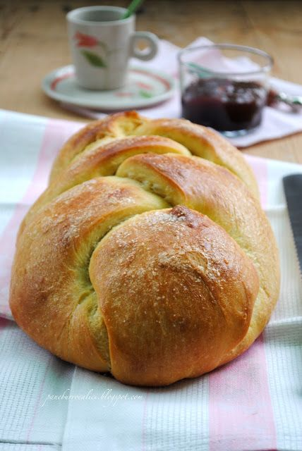 Pane, burro e alici: Pane dolce alla vaniglia con yogurt e lievito madr...
