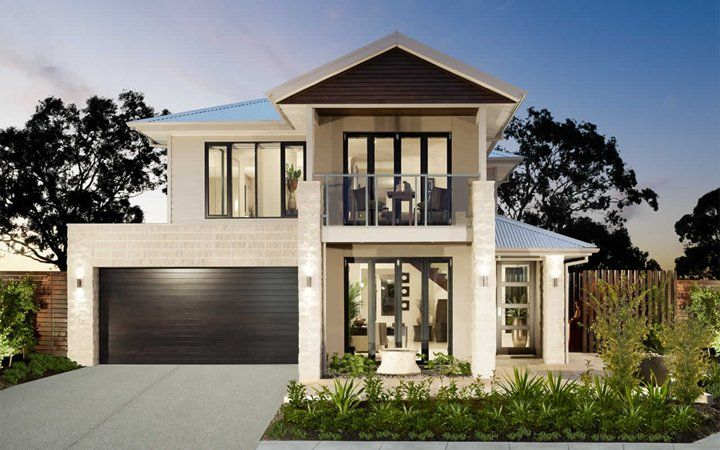 Two storey modern home