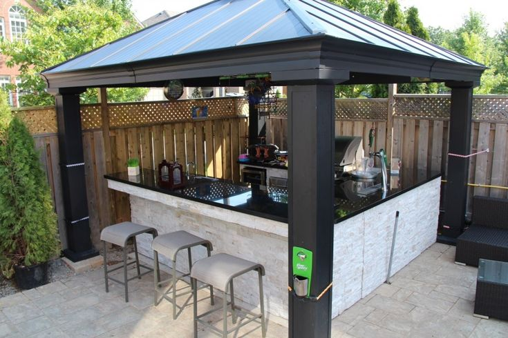 9 best outdoor kitchens w pizza ovens images on pinterest - Outdoor kitchen pizza oven design ...
