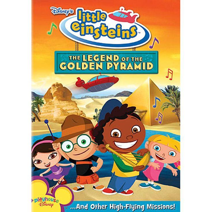 Little Einsteins The Legend of the Golden Pyramid DVD