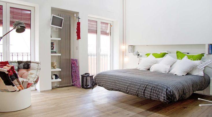 camera da letto moderna dell'appartamento lago alicante