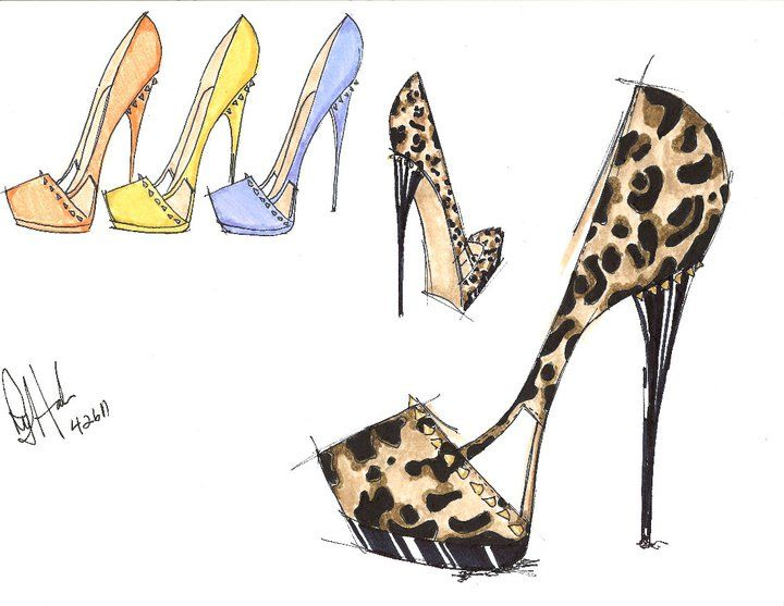 fashion design sketches of shoes tbdswqw shoes sketching