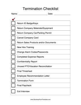 sample exit interview forms