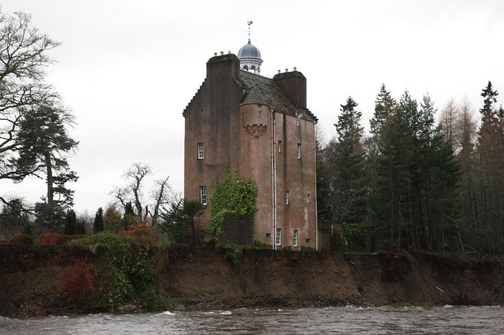The historic castle, which is enclosed by Balmoral on three side, sits alongside the River...