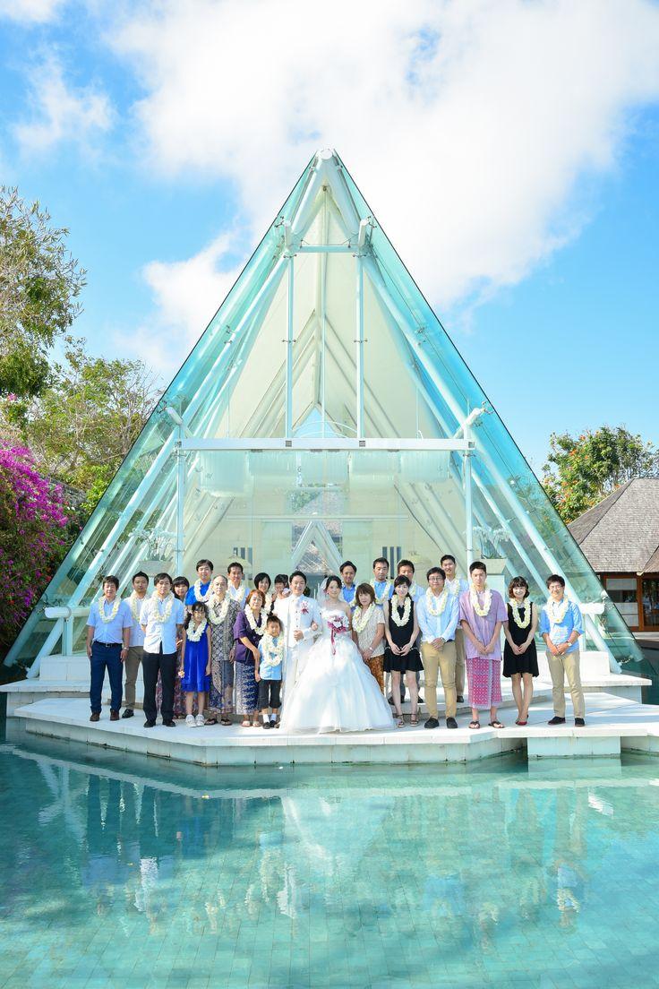 15時挙式 挙式後撮影 集合写真 #wedding #bali