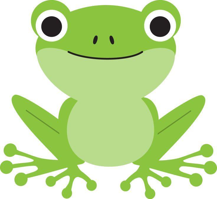 Frog Clipart Cute Frogs Art Drawings For Kids Clip Art