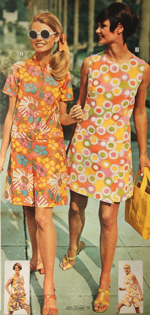 60s Hippie Dress Mod Costume Ideas