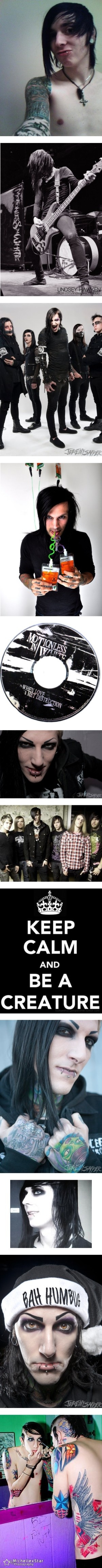Ricky; Ricky; Ange, Ricky, Chris, Ryan, Balz; Angelo; When Love Met Destruction; Chris; TJ, Mikey, Chris, Balz, Frank, Ange; Creature; Chris; Ricky; Chris; Chris  yes, i took the time for that