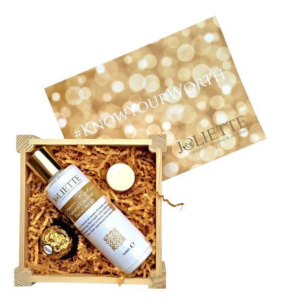 Joliette Small Gift Set: Radiance Scrub £15