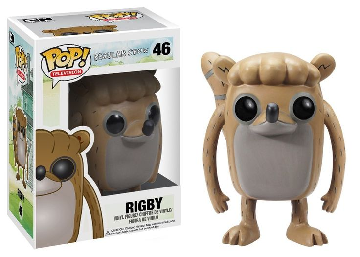 Amazon.com: Funko POP Television Rigby Regular Show Vinyl Figure: Toys & Games