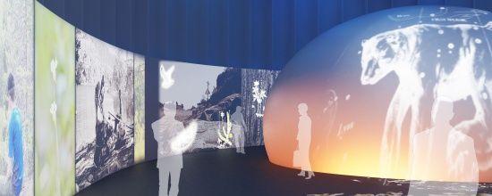Haltian päänäyttelysali. Kuva: Imagenesis/Timo Koho