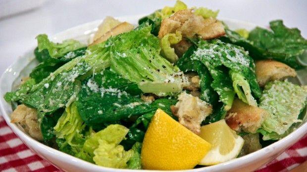 Low-Fat Italian Caesar Salad: This is not your average Caesar salad!