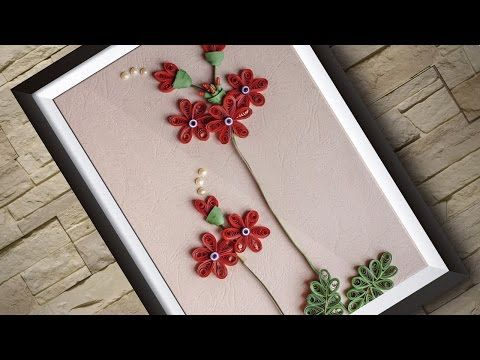 Embroidery | Ribbon Flower Design | Hand Stitching Tutorials | HandiWorks #78 - YouTube