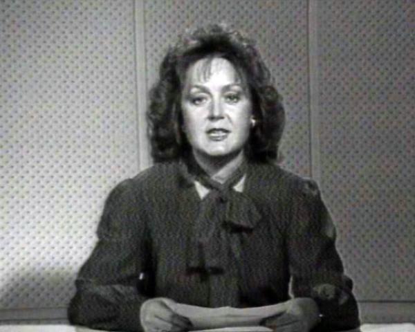 İlk kadın televizyon spikeri: Nuran Devres