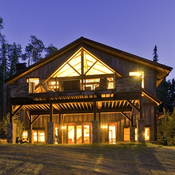 Serious dream home! Reclaimed barns rebuilt and restored by Heritage Barns.