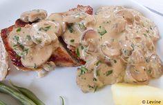 Uit de keuken van Levine: Kip met Boursin-champignonssaus