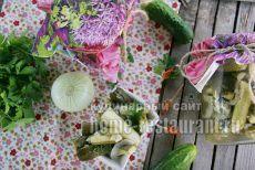 Зимний салат из огурцов «Дамские пальчики» | Домашний Ресторан