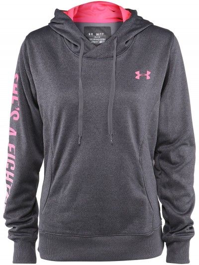 Under Armour Women's Power In Pink Fighter Hoodie