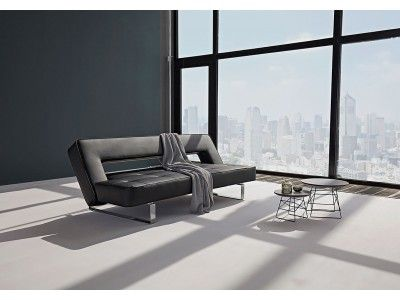 Puzzle Luxe Sofa Bed - Leather look