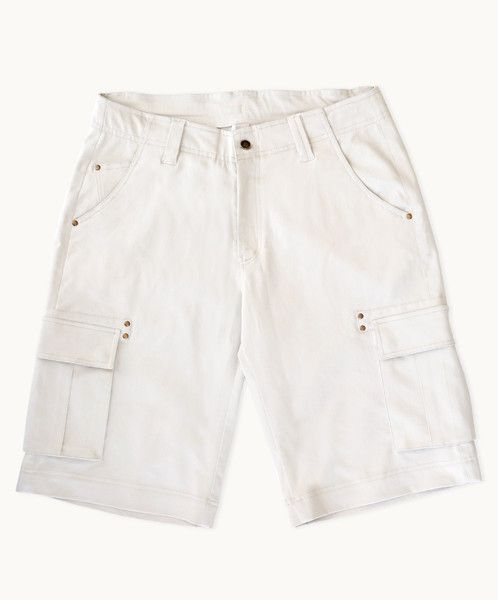 $69 Need a pair of shorts that look great with everything? These comfortable beige shorts have cargo styling, with lots of handy pockets, but are smart enough to wear out with all your favourite shirts! They wash and wear well, and are guaranteed to become a favourite!