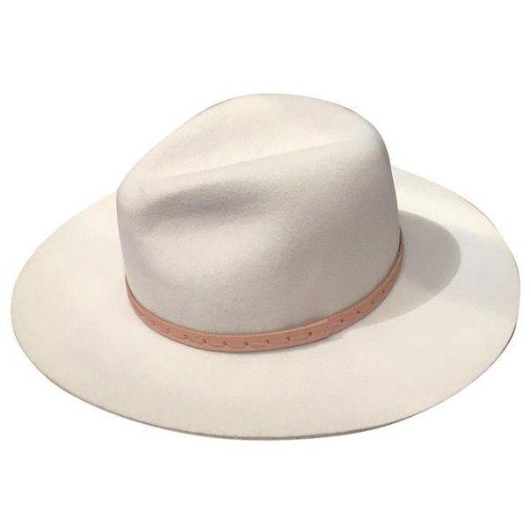 812cc31e21cdd Rag Bone Tan And Wide Brim Wool Fedora Hat Tradesy ( 10) ❤ liked on ...